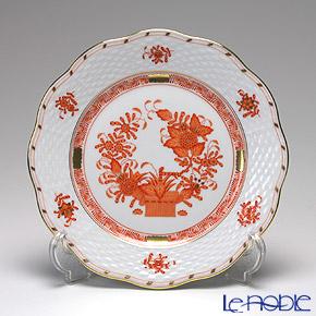 ヘレンド インドの華オレンジ 00517-0-00/517 プレート 19cm