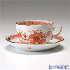 ヘレンド インドの華オレンジ 00724-0-00/724ティーカップ&ソーサー 200cc