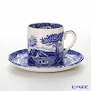 Spode 'Blue Italian' Coffee Cup & Saucer 90ml