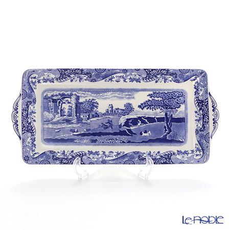 Spode Blue Italian Sandwich Tray 33 cm