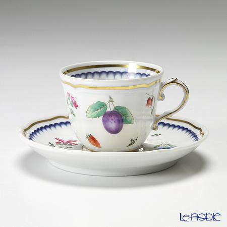 ジノリ1735/リチャード ジノリ(GINORI 1735/Richard Ginori) イタリアンフルーツコーヒーカップ&ソーサー 120cc