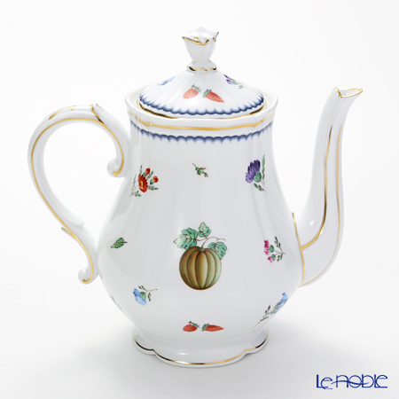 Richard Ginori 'Italian Fruits (Flower) / Antico' Coffee Pot 1140ml