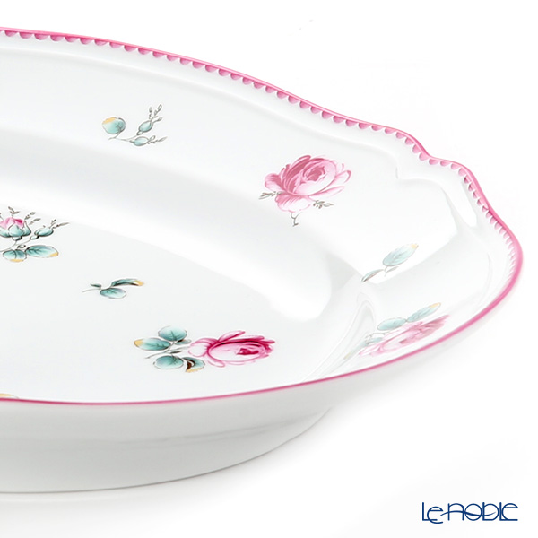 Richard Ginori Amalfi / Antique Rose Oval Plate 34.5x26.5cm