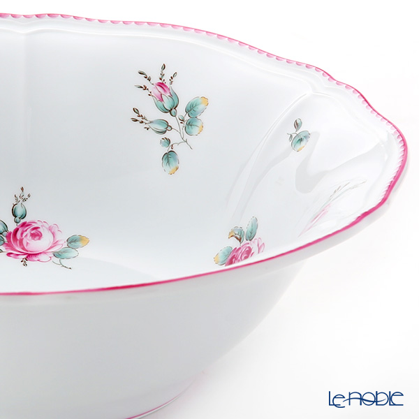 Richard Ginori Amalfi / Antique Rose Round Salad Bowl 26cm