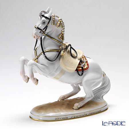 アウガルテン(AUGARTEN) フィギュリン(011210) スペイン乗馬学校 騎手のいないレバード 21.5cm 1550