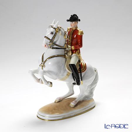 アウガルテン(AUGARTEN) フィギュリン(011210) スペイン乗馬学校 レバード 22.5cm 1591