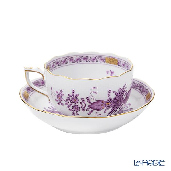 Herend 'Indian Basket Lilac / Fleurs des Indes' FL 00704-0-00 Tea Cup & Saucer 200ml