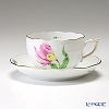 Herend 'Tulip Flower Pink / Kitty' KY-2 00724-0-00/724 Tea Cup & Saucer 200ml