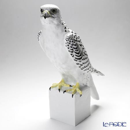 Le Noble Augarten Animal Bird Gyrfalcon Figurine H34cm