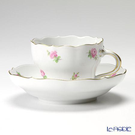 マイセン(Meissen) スキャタードフラワー/ローズ 019110/00582 コーヒーカップ&ソーサー 200cc