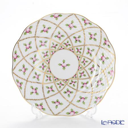 ヘレンド セーブル風の薔薇 SPORG 00517-0-00プレート 19cm