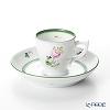 ヘレンド ウィーンのバラ 00729-0-00モカカップ&ソーサー 50cc