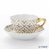 Herend Sable wind rose SPROG 04094-0-00 Tea Cup & Saucer