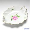 マイセン(Meissen) ピンクのバラ 020110/00265リーフディッシュ 22×19cm