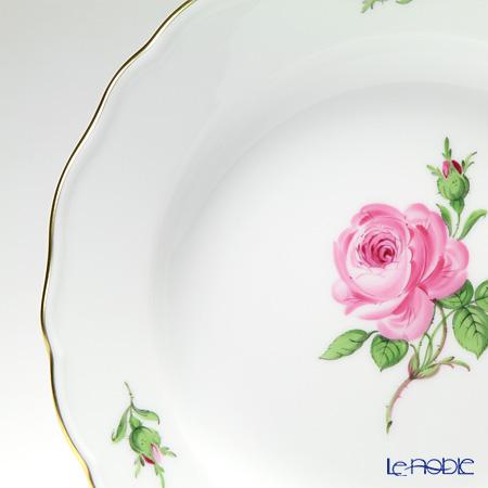 マイセン(Meissen) ピンクのバラ 020110/00472プレート 20cm