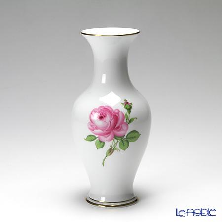 マイセン(Meissen) ピンクのバラ 020110/50198 ベース(花瓶) 24cm