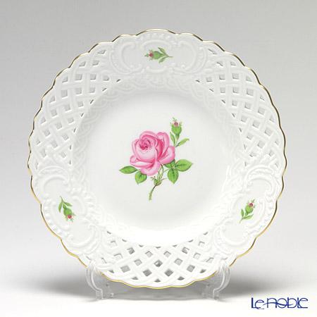 マイセン(Meissen) ピンクのバラ 020110/54801 飾り皿 19cm