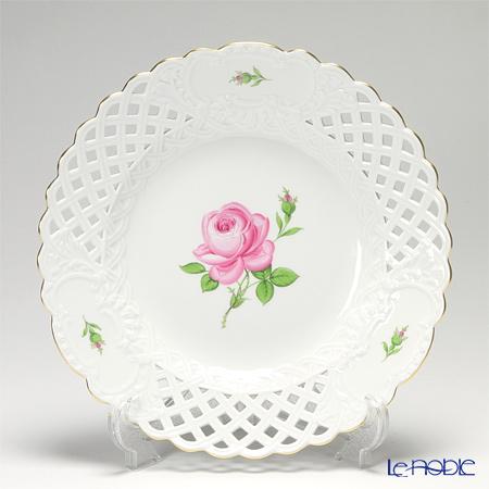 マイセン(Meissen) ピンクのバラ 020110/54804飾り皿 29cm
