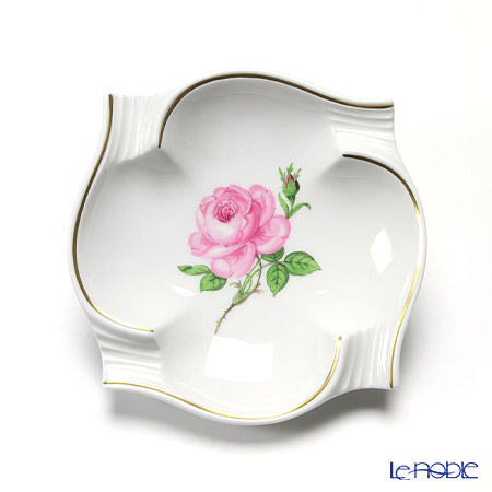 Meissen 'Pink Rose' 020113/53552 Ashtray 13cm