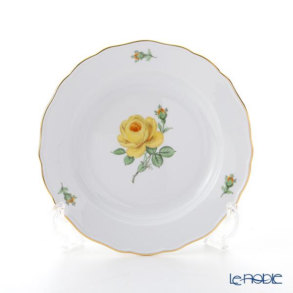 マイセン(Meissen) 黄色のバラ 020610/00472 プレート 20cm