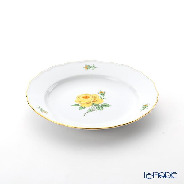 マイセン(Meissen) 黄色のバラ 020610/00472プレート 20cm