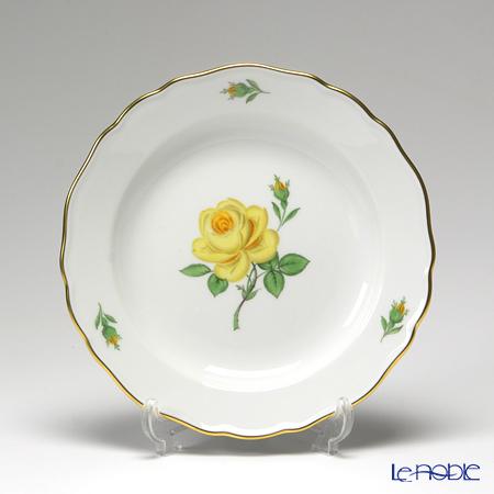 マイセン(Meissen) 黄色のバラ 020610/00501 プレート 18cm