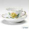 マイセン(Meissen) 黄色のバラ 020610/00582コーヒーカップ&ソーサー 200cc