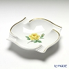 Meissen 'Yellow Rose' 020613/53552 Ashtray 13cm