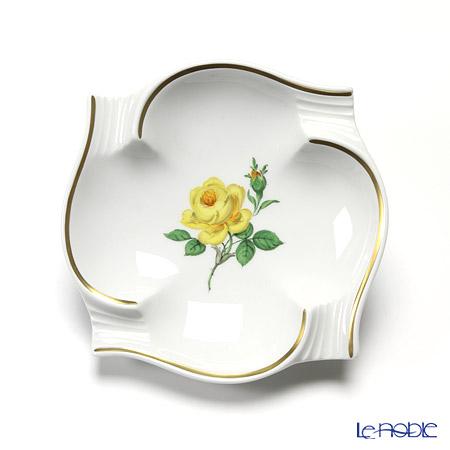 Meissen 'Yellow Rose' 020613/53552 Ashtray 13cm