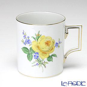 マイセン(Meissen) 黄色のバラ(忘れな草) 020910/55810 マグ 240cc