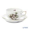 Herend 'Rothschild Bird / Rothschild Oiseaux' RO-11 00724-0-00 Tea Cup & Saucer 200ml