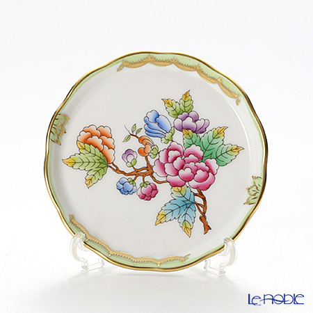 ヘレンド ヴィクトリア・ブーケ 00341-0-00 プレート 10cm