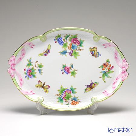 ヘレンド ヴィクトリア・ブーケ 00400-0-00 パーティートレイ 38cm