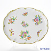 Herend Queen Victoria / Victoria avec Bord en Or VBO 00417-0-00 Oval Tray 31.5x25.5cm