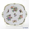 Herend Victoria-00431-0-00 VBO bouquet Cicak cake plate 28 x 25 cm