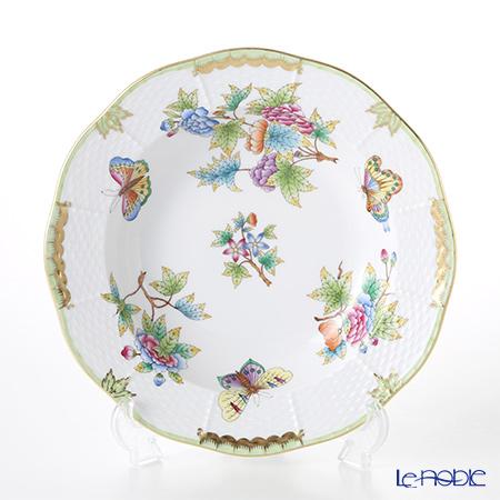 ヘレンド ヴィクトリア・ブーケ 00501-0-00 スーププレート 23cm
