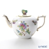 -Herend Victorian bouquet VBO 00606-0-17 800cc teapot (butterfly)