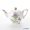 -Herend Victorian bouquet VBO 00608-0-17 400cc teapot (butterfly)