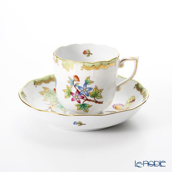 ヘレンド ヴィクトリア・ブーケ 00707-0-00 モカカップ&ソーサー 150cc