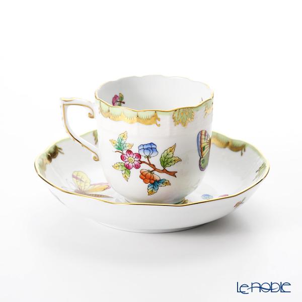 Herend Queen Victoria / Victoria avec Bord en Or VBO 00707-0-00 Mocha Cup & Saucer 150ml