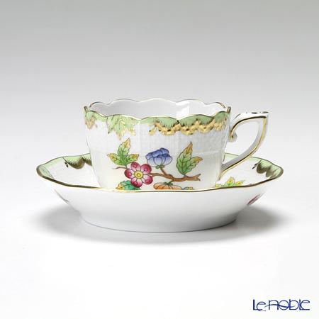 ヘレンド ヴィクトリア・ブーケ 00711-0-00 モカカップ&ソーサー 100cc