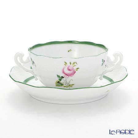 ヘレンド ウィーンのバラ 00718-0-00 スープカップ&ソーサー 300cc
