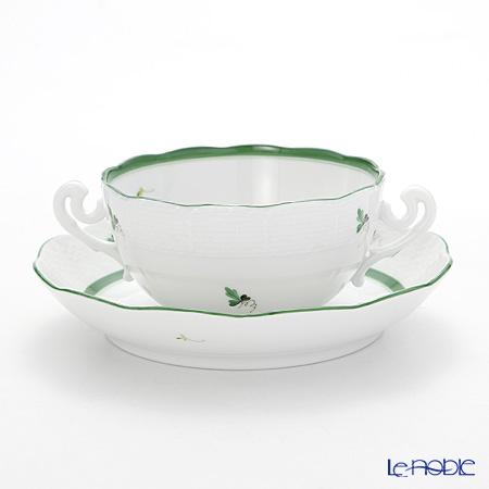 ヘレンド ウィーンのバラ 00718-0-00スープカップ&ソーサー 300cc