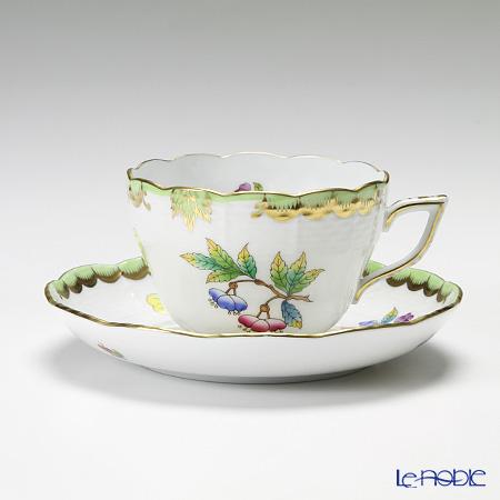 ヘレンド ヴィクトリア・ブーケ 00730-0-00 ティーカップ&ソーサー(兼用) 200cc