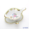 Herend 'Queen Victoria / Victoria avec Bord en Or' VBO 02452/02451 Tea Strainer & Tray