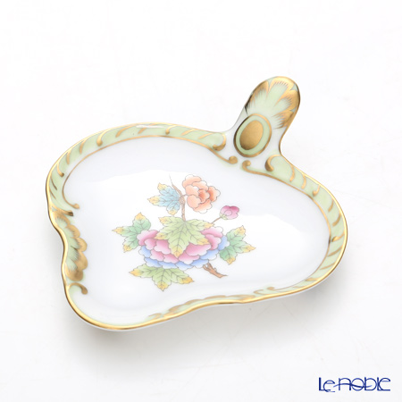 -Herend Victorian bouquet VBO 02452 / 02451 Teestlena/tray