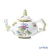 Herend 'Queen Victoria / Victoria avec Bord en Or' VBO 03305-0-21 Mini Tea Pot (Mandarin / openwork) 350ml