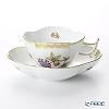 Herend 'Queen Victoria / Victoria avec Bord en Or' VBO 04196-0-00 Tea Cup & Saucer (Clover shape) 140ml