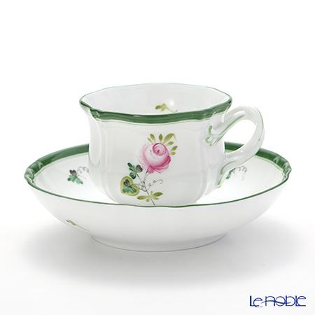 ヘレンド ウィーンのバラ 04227-0-00 ティーカップ&ソーサー
