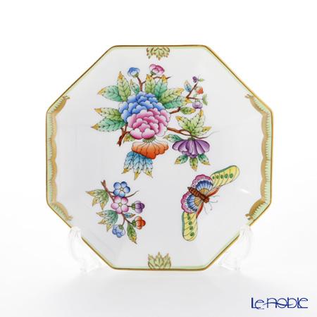 ヘレンド ヴィクトリア・ブーケ 04304-1-00 小皿(オクタゴナル) 13.5cm